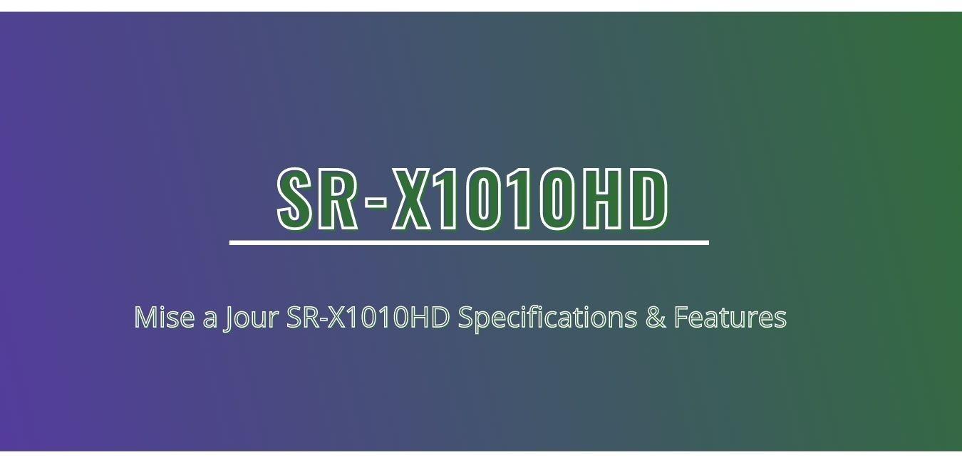 SR-X1010HD
