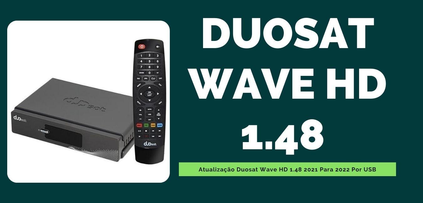 Atualização Duosat Wave HD 1.48