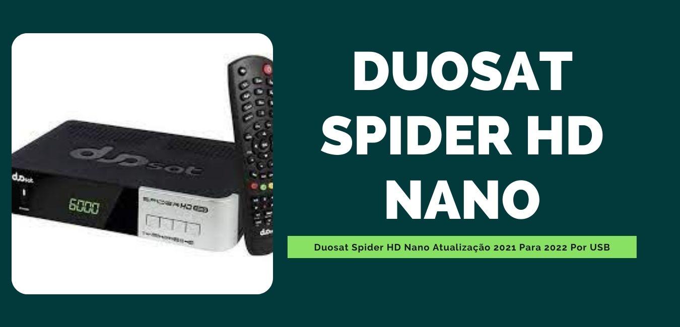Duosat Spider HD Nano Atualização